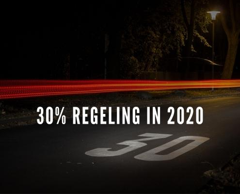 30% regeling in 2020