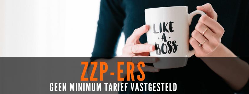 ZZP - geen minimum tarief