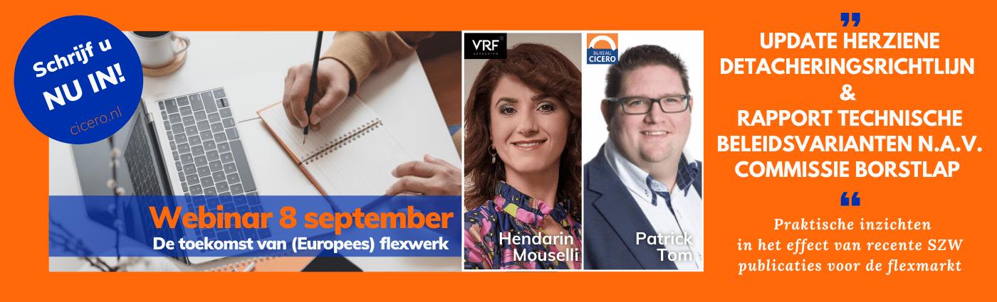 Webinar 8 september - de toekomst van flex