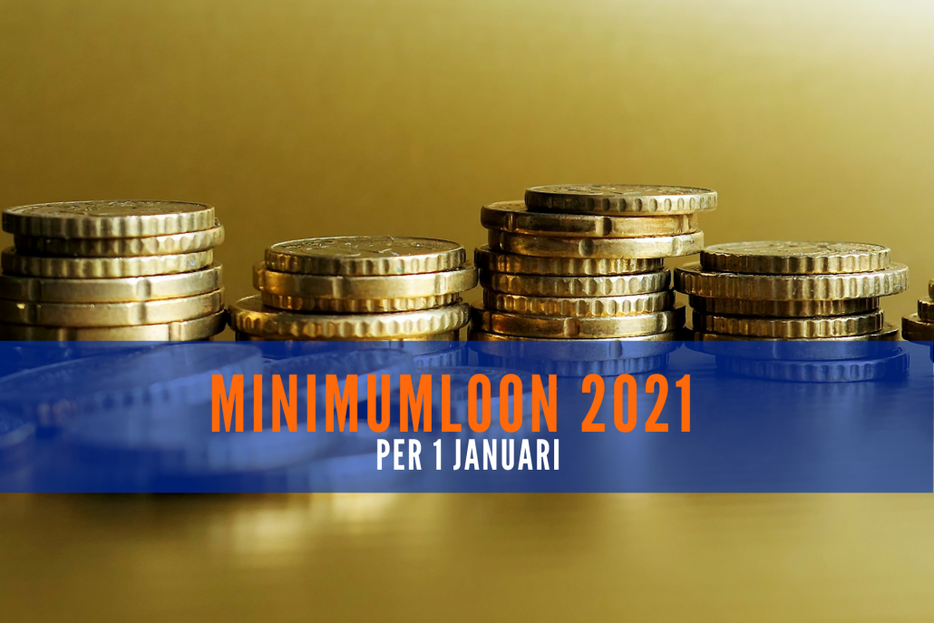 Minimumloon per 1 januari 2021