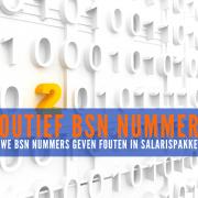 Nieuwe BSN nummers geven fouten in salarispakketten