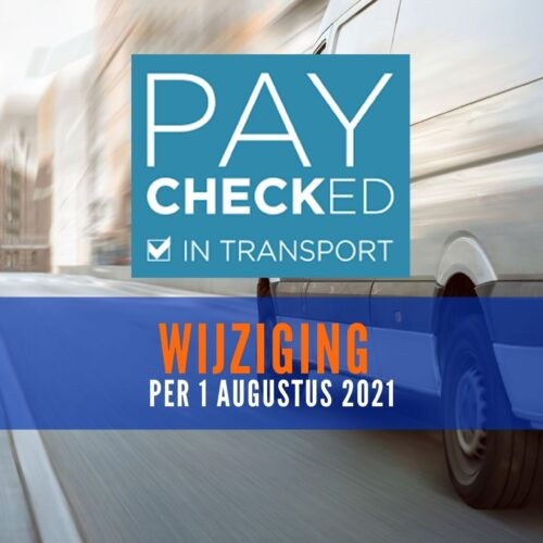 PayChecked in Transport Wijziging