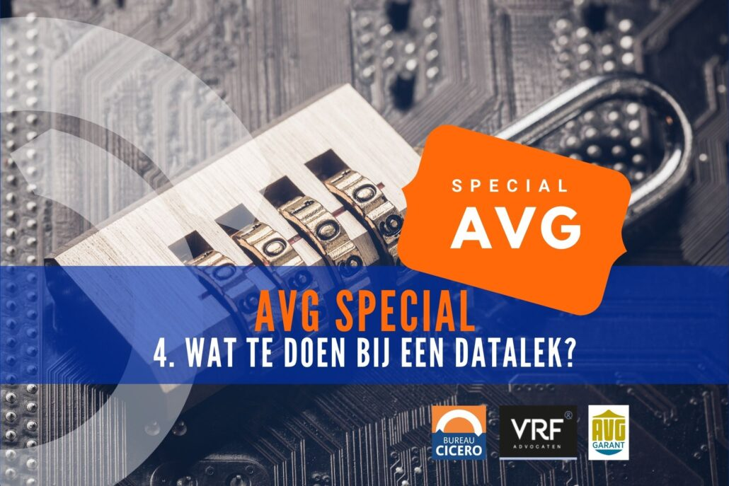 AVG Special 4 wat te doen bij een datalek